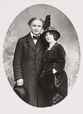 Houdini's Women Wife Lover Friend