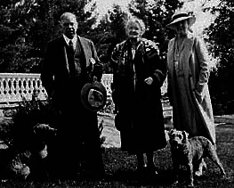 Mackenzie his dog Pat, Medium Etta Wriedt Joan Patteson