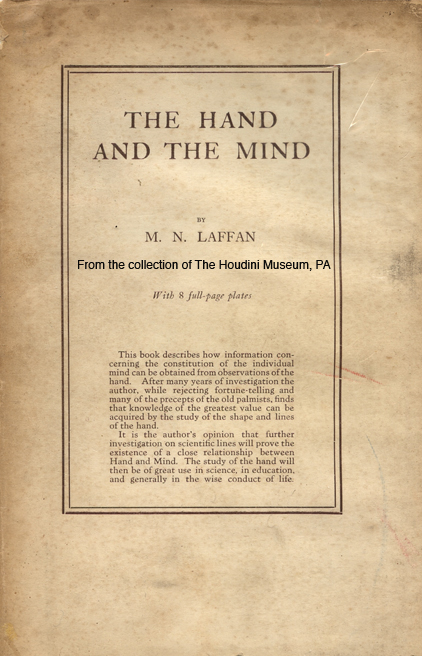 Cover of Occult book stolen by Whitehead