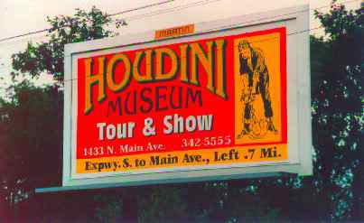 Houdini Poster