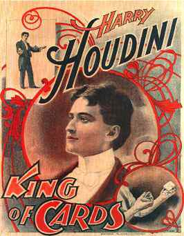 how i get our of a strait jacket by harry houdini reprint on card stock of may 1918 article in ladies home journal with detailed pictures of houdini